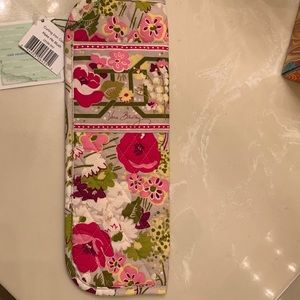 Flat iron cover.  Travel.    Vera Bradley